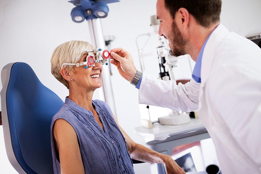 Лечение влажной формы возрастной макулярной дегенерации (ВМД)