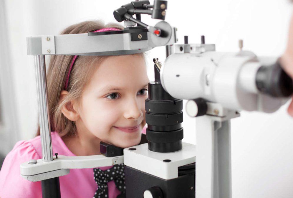Комплексное обследование у детей на близорукость